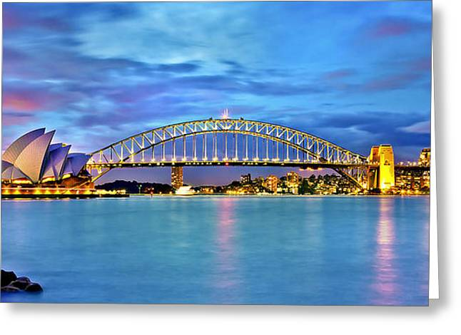 Blue Harbour Greeting Card