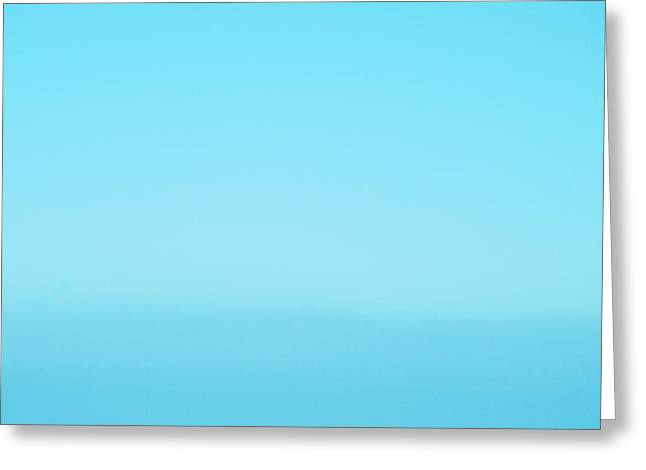 Blue Heaven Abstract Greeting Card by Tony Grider