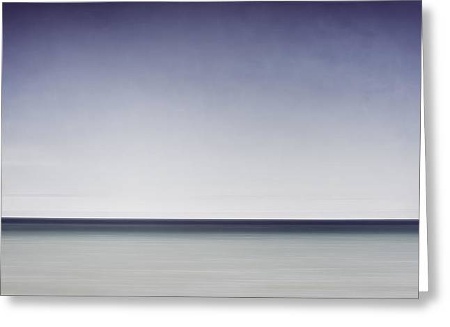 Blue Horizon Greeting Card by Scott Norris