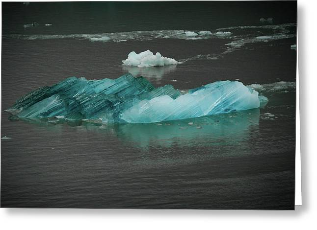Blue Iceberg Greeting Card