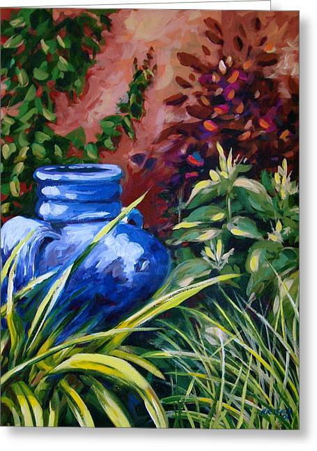 Blue Jug Greeting Card