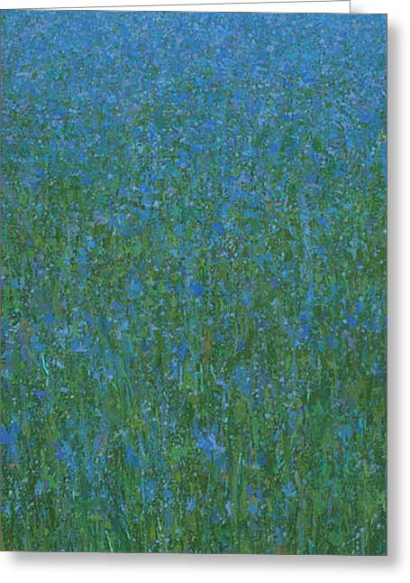Blue Meadow 1 Greeting Card