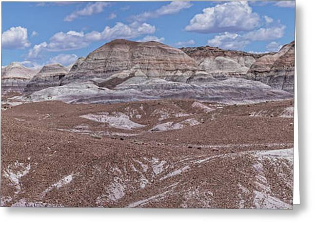 Blue Mesa At The Petrified Forest National Park Greeting Card by Jim Vallee