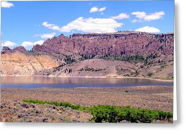 Greeting Card featuring the photograph Blue Mesa Lake by Antonia Citrino