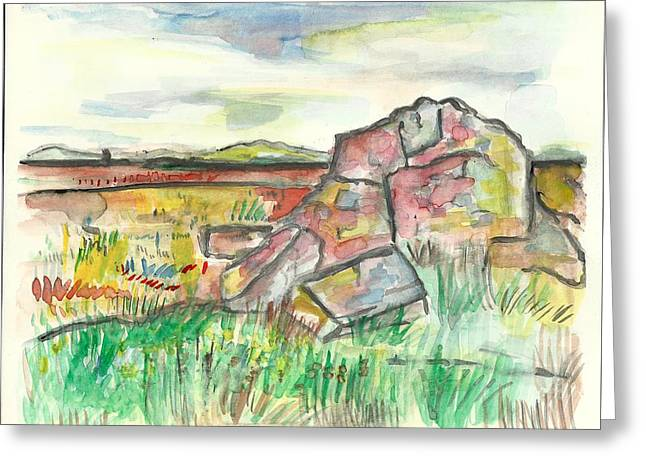 Blue Mounds State Park Greeting Card