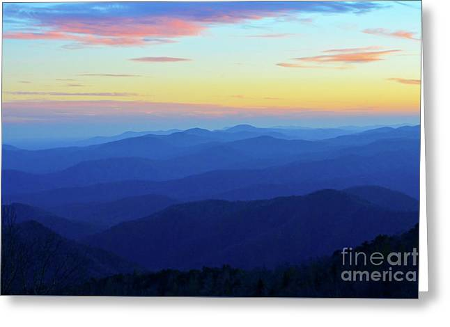 Blue Mountain Majesty Greeting Card