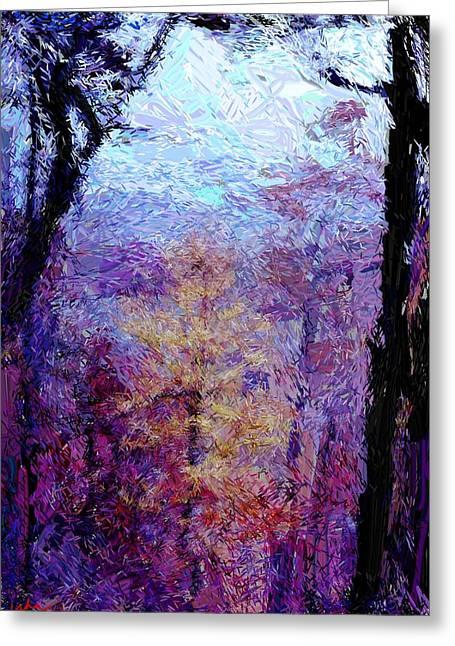 Blue Ridge Autumn Greeting Card