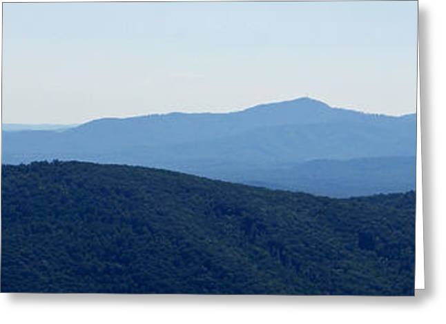 Blue Ridge Greeting Card by Jean Haynes