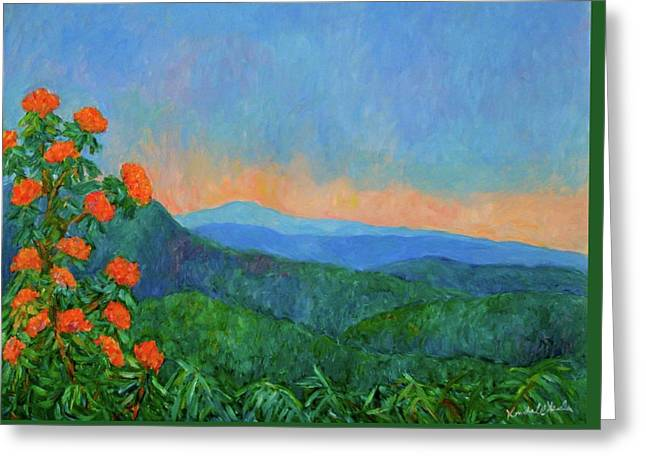 Blue Ridge Morning Greeting Card