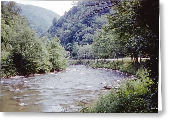 Blue Ridge Mountains 8 Greeting Card