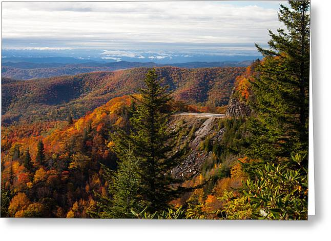 Blue Ridge Parkway Greeting Card