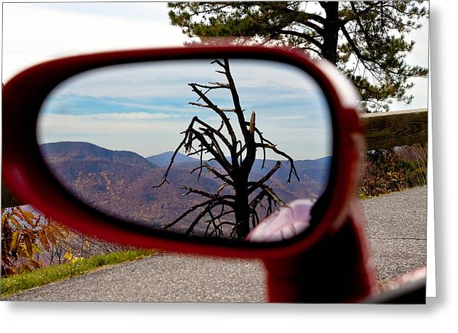 Blue Ridge Reflection Greeting Card