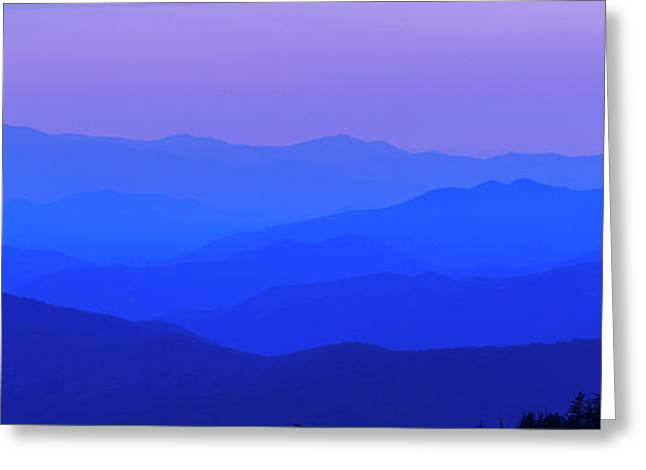 Blue Ridge Spring 08 Greeting Card