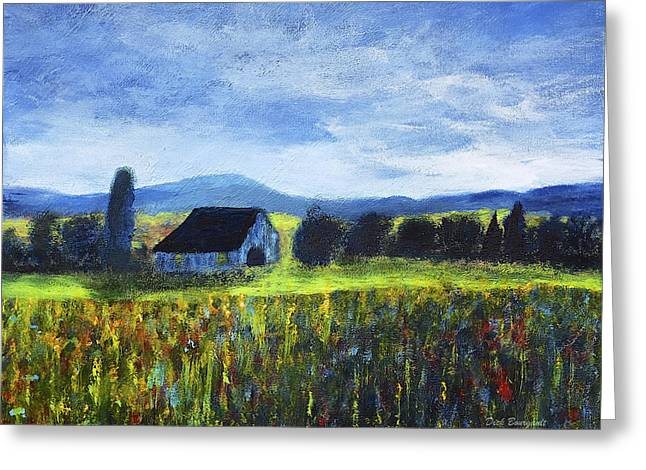Blue Ridge Valley Greeting Card