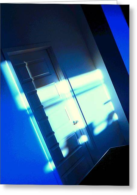 Blue Room Greeting Card by Dietmar Scherf