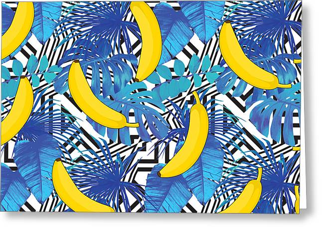 Blue Summer  Greeting Card