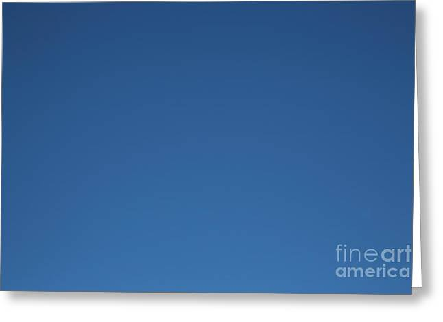 Blue Was Just The Kansas Summer Sky Greeting Card