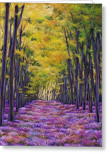 Bluebell Expanse Greeting Card