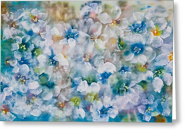 Bluebonnet Greeting Card by Don  Wright