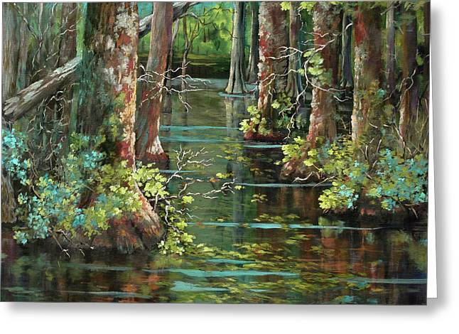 Bluebonnet Swamp Greeting Card