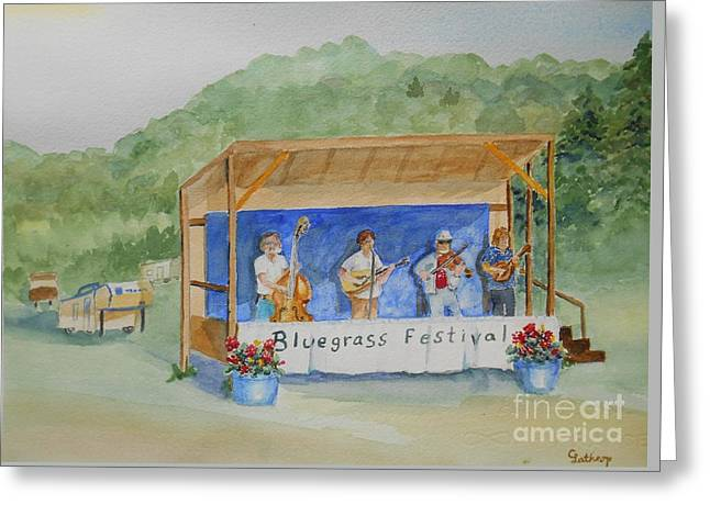 Bluegrass Festival Greeting Card