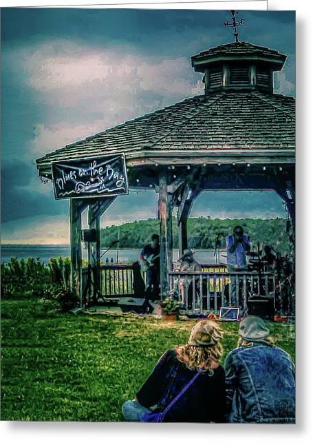 Blues On The Bay Greeting Card