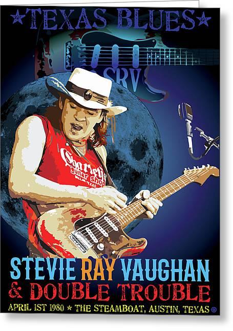 Bluesman Greeting Card by Gary Grayson