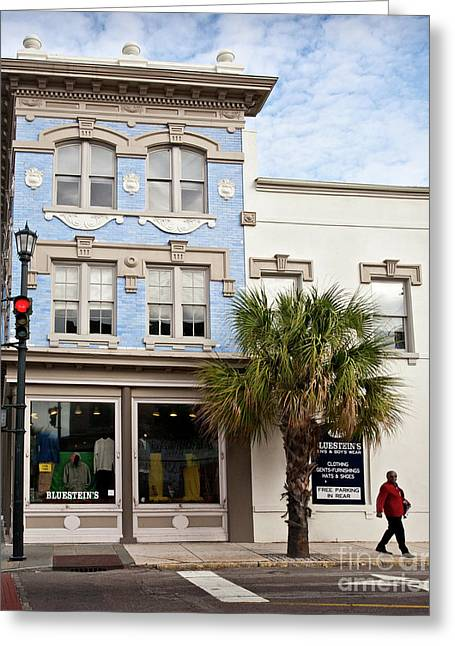 Bluesteins Menswear Charleston Sc  -7434 Greeting Card