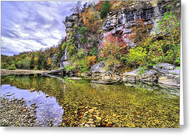 Bluffs Of The Buffalo River Greeting Card by JC Findley