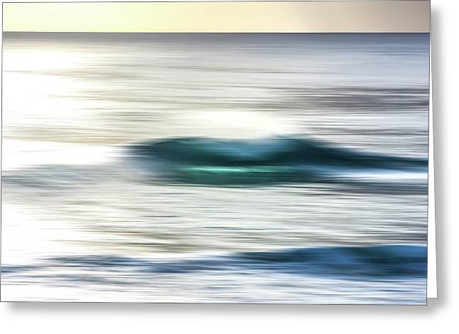 Blurred Beauty Greeting Card by Sean Davey