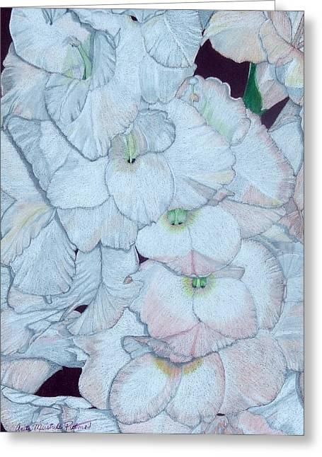 Blush Greeting Card by Anita Putman