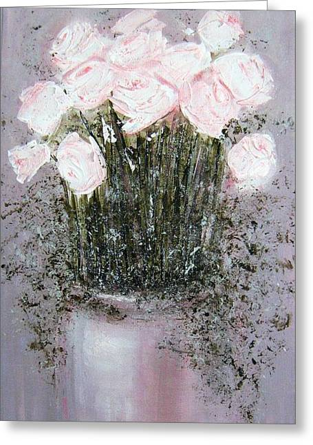 Blush - Original Artwork Greeting Card