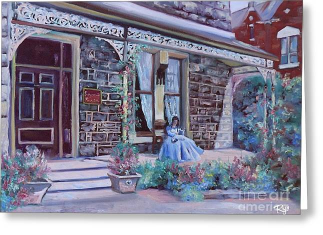 Blythewood Grange Ballarat Greeting Card