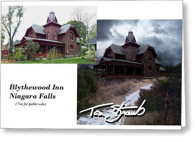 Blythewood Inn Greeting Card by Tom Straub
