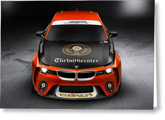 Bmw 2002 Hommage Concept Pebble Beach Concours Delegance  Greeting Card