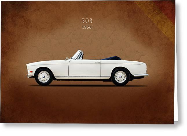 Bmw 503 1956 Greeting Card by Mark Rogan