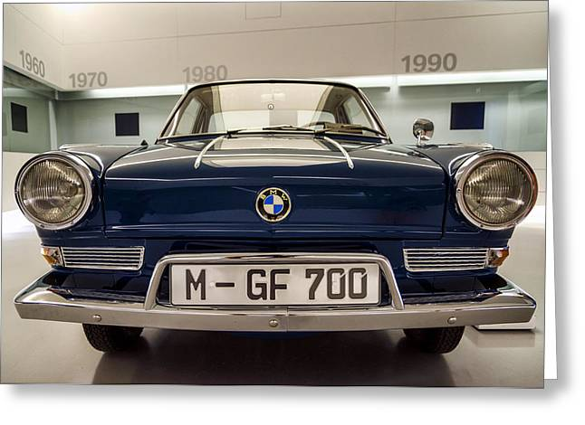 Bmw 700 Ls Coupe. Greeting Card