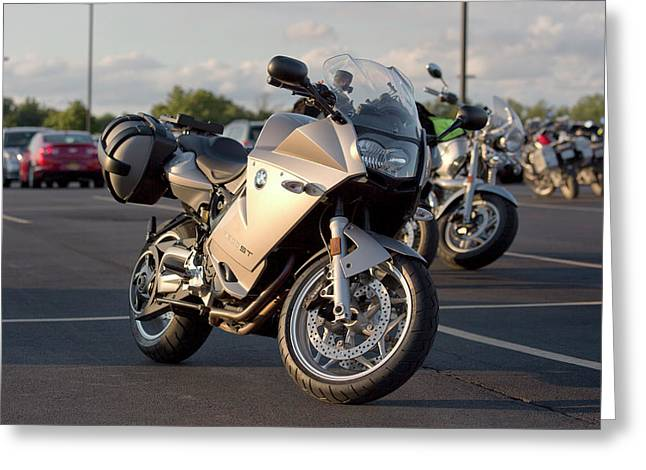 Bmw F800st Greeting Card by Peter Chilelli