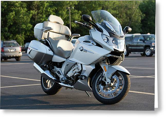 Bmw K1600 Gtl Greeting Card by Peter Chilelli
