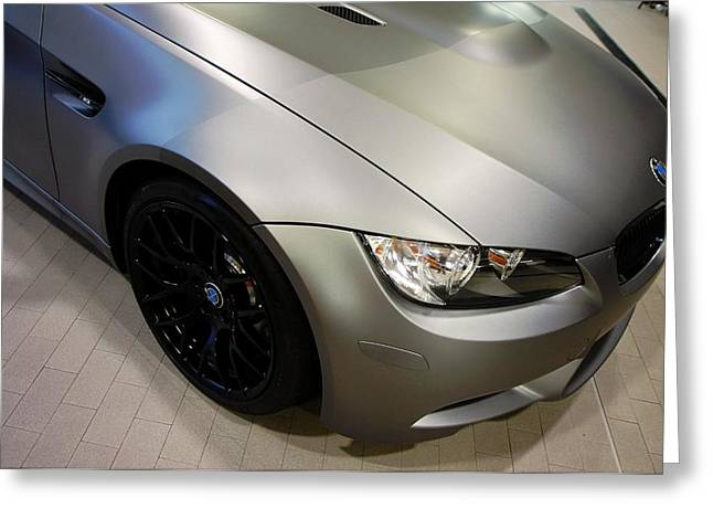 Greeting Card featuring the photograph Bmw M3 by Aaron Berg