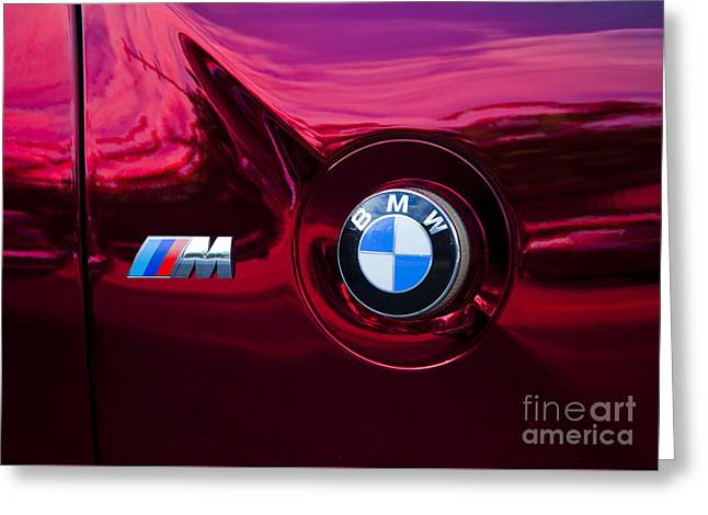 Bmw M3 Badges Greeting Card