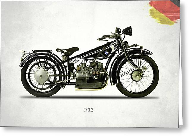 Bmw R32 1923 Greeting Card