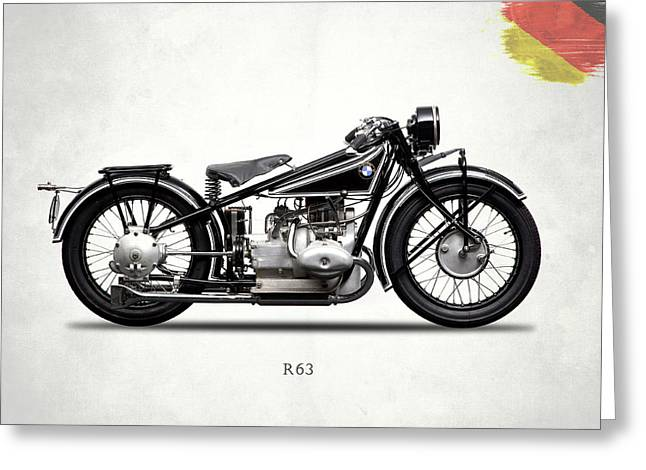 Bmw R63 1929 Greeting Card