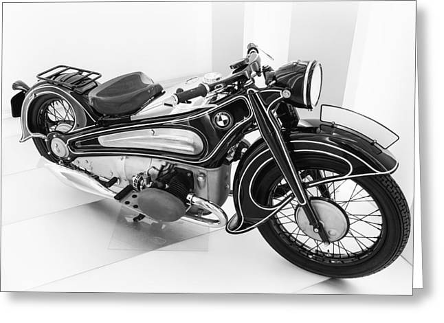 Bmw R7 1934 Prototype Greeting Card