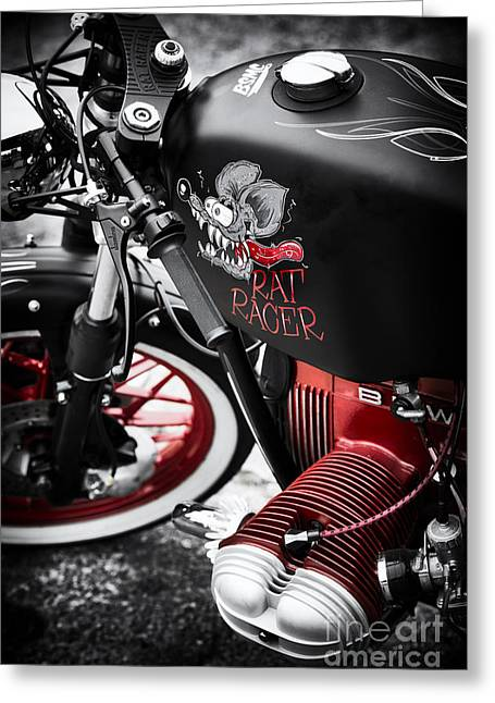 Bmw Rat Racer Greeting Card by Tim Gainey
