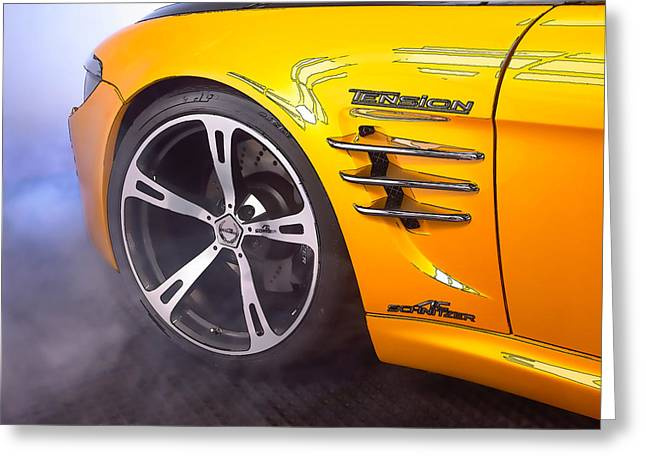 Bmw Sports Car Greeting Card by Lanjee Chee