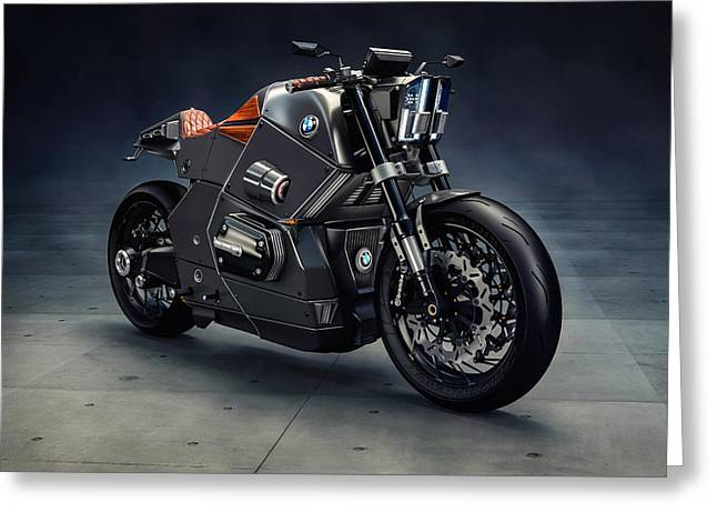 Bmw Urban Racer Concept Greeting Card by F S