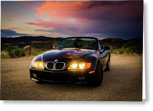 Bmw Z3 Greeting Card