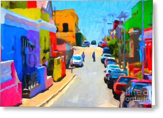 Bo-kaap Greeting Card