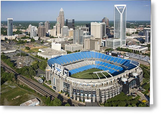 Boa Stadium In Charlotte Greeting Card by Clear Sky Images